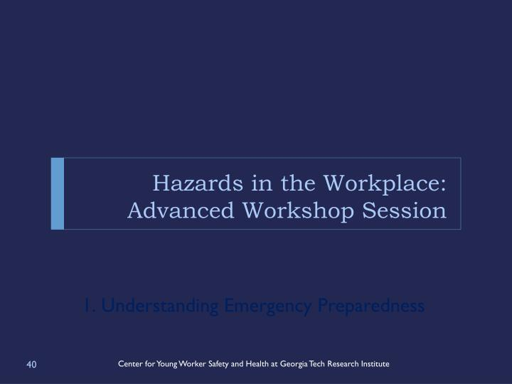 Hazards in the Workplace:
