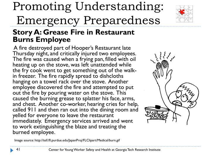 Promoting Understanding: