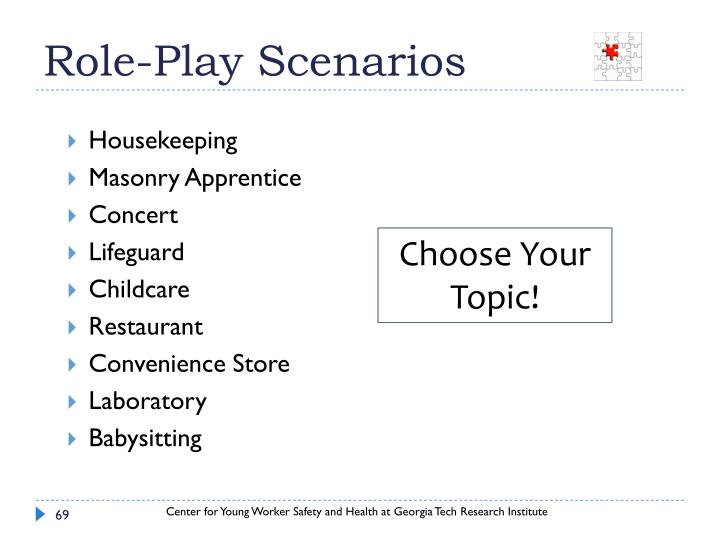 Role-Play Scenarios