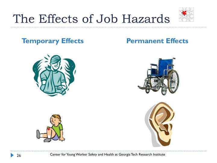 The Effects of Job Hazards