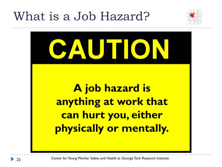 What is a Job Hazard?