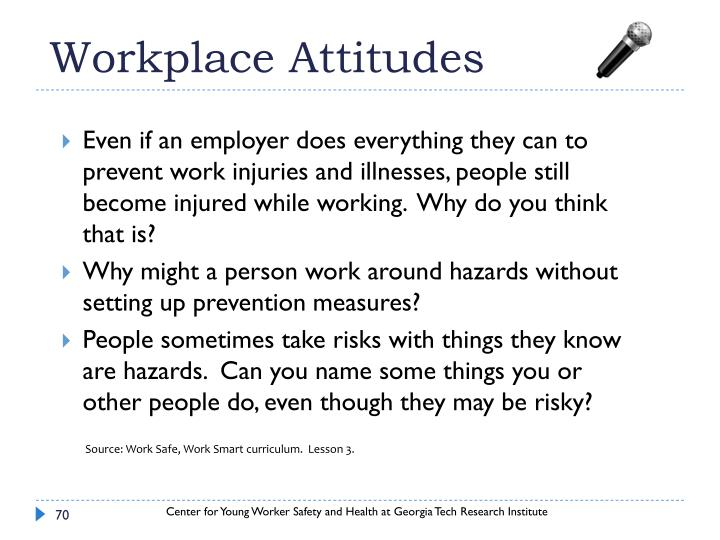 Workplace Attitudes
