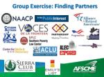 group exercise finding partners