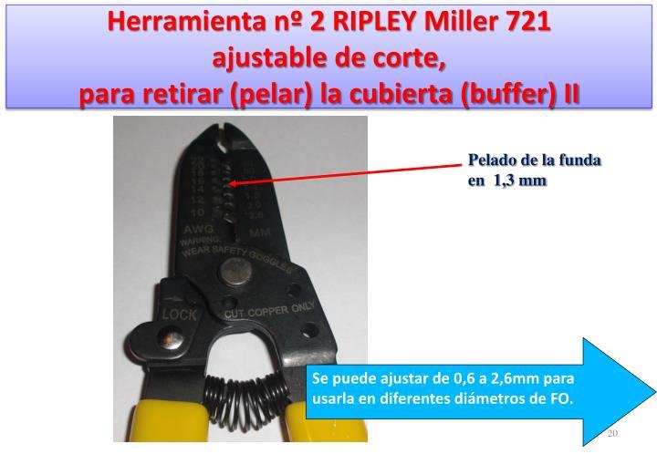 Herramienta nº 2 RIPLEY Miller 721