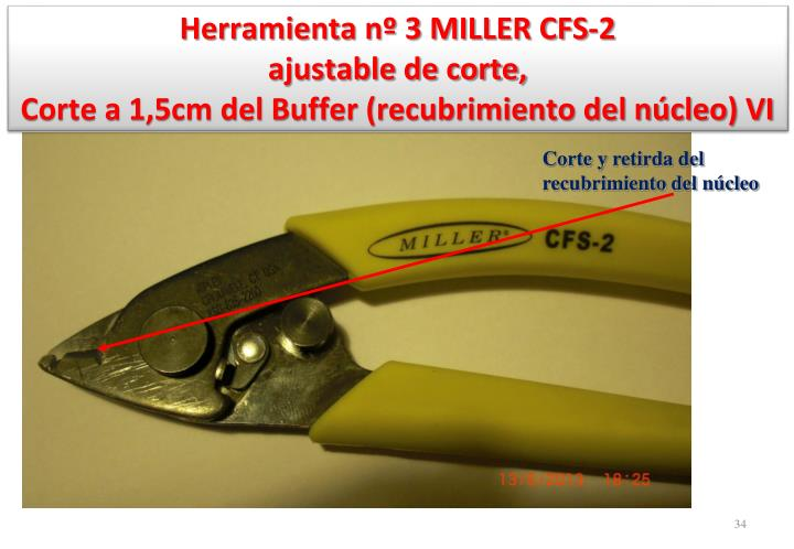 Herramienta nº 3 MILLER CFS-2