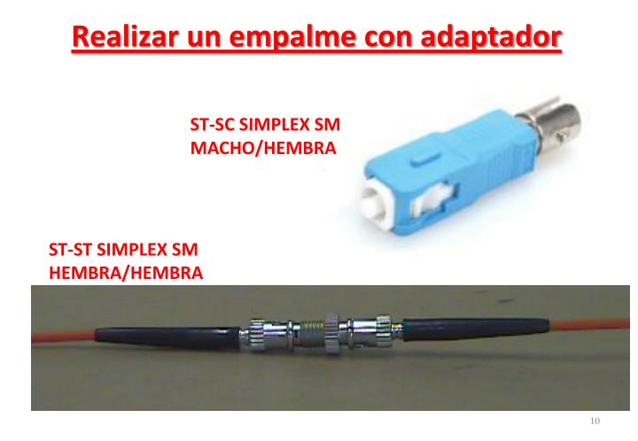 ST-SC SIMPLEX SM MACHO/HEMBRA