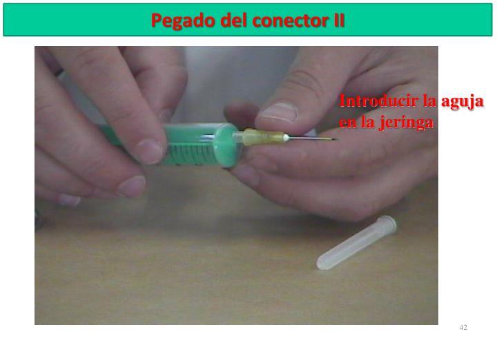 Pegado del conector II