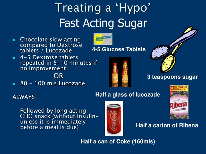 Treating a 'Hypo'