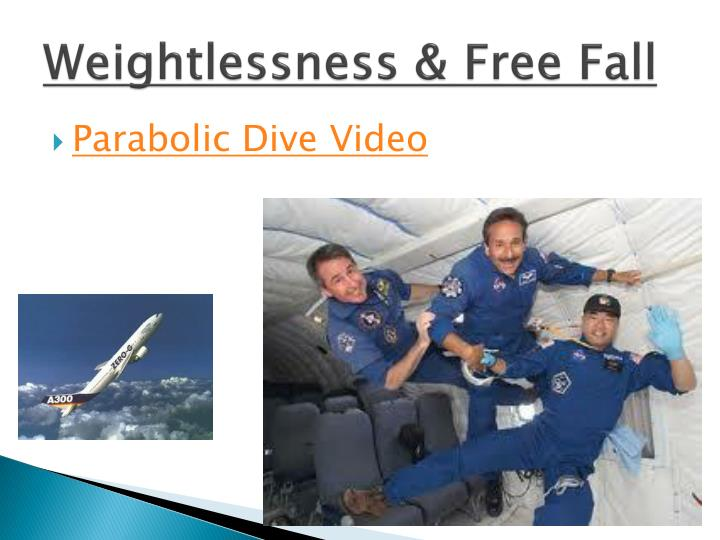 Weightlessness & Free Fall