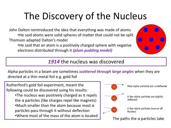 The Discovery of the Nucleus