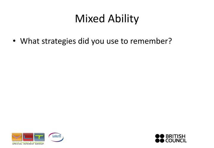 Mixed ability1