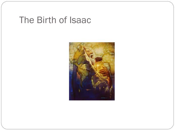 The Birth of Isaac