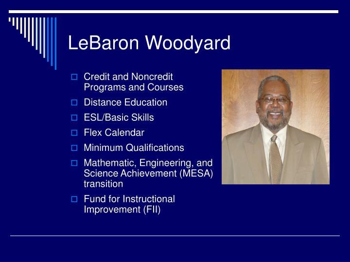LeBaron Woodyard