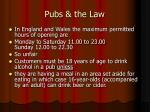 pubs the law