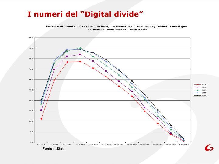 """I numeri del """"Digital divide"""""""