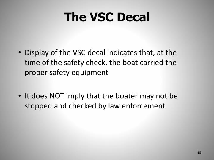 The VSC Decal