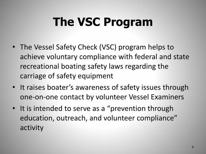 The VSC Program