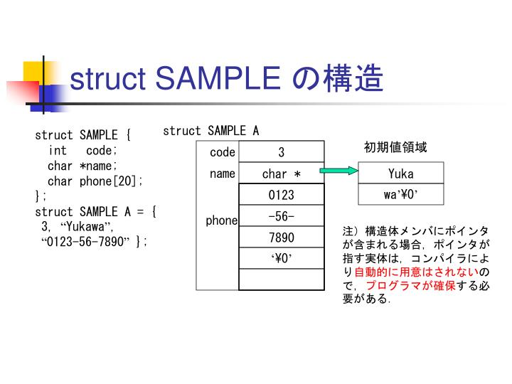 struct SAMPLE