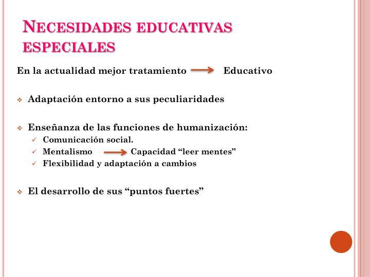 Necesidades educativas especiales