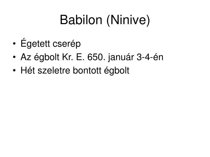 Babilon (Ninive)