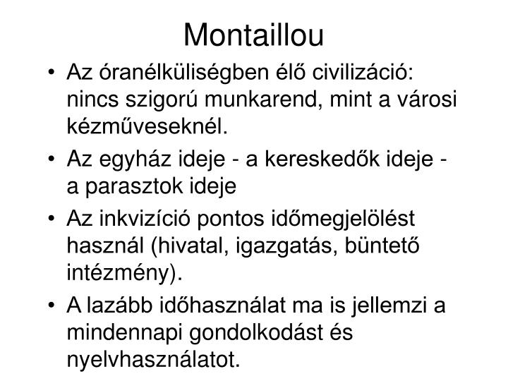 Montaillou