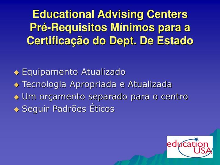 Educational Advising Centers