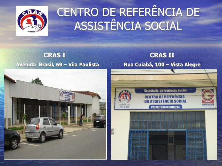 Centro de refer ncia de assist ncia social
