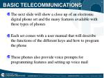basic telecommunications7