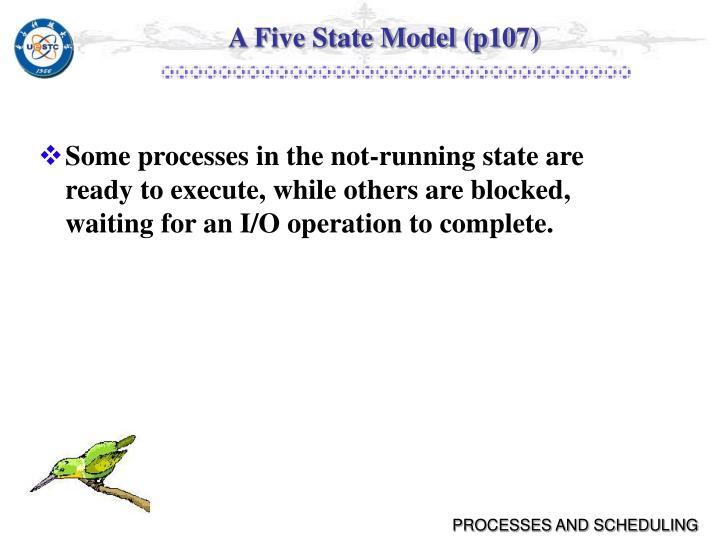 A Five State Model (p107)