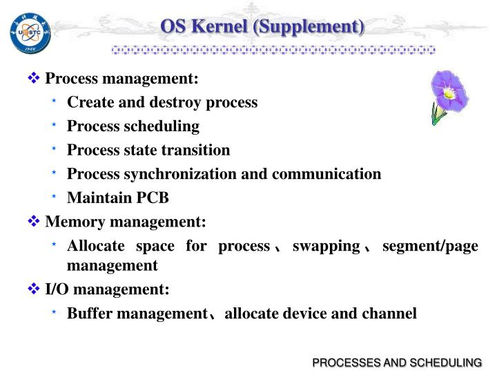 OS Kernel (Supplement)