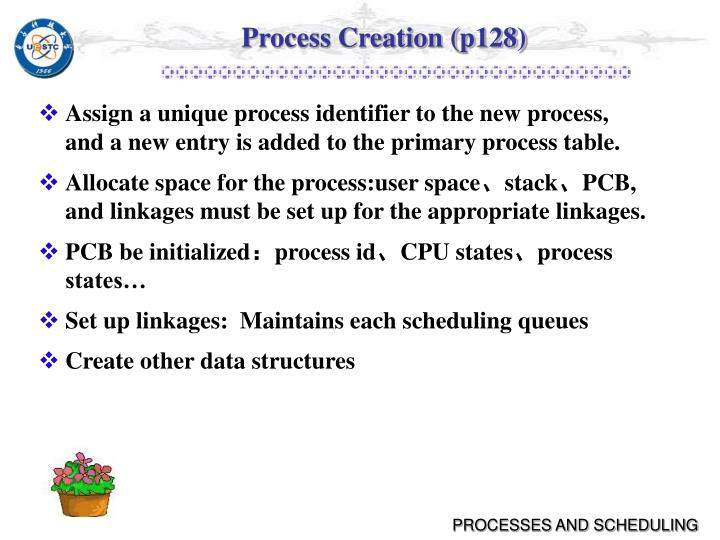 Process Creation (p128)