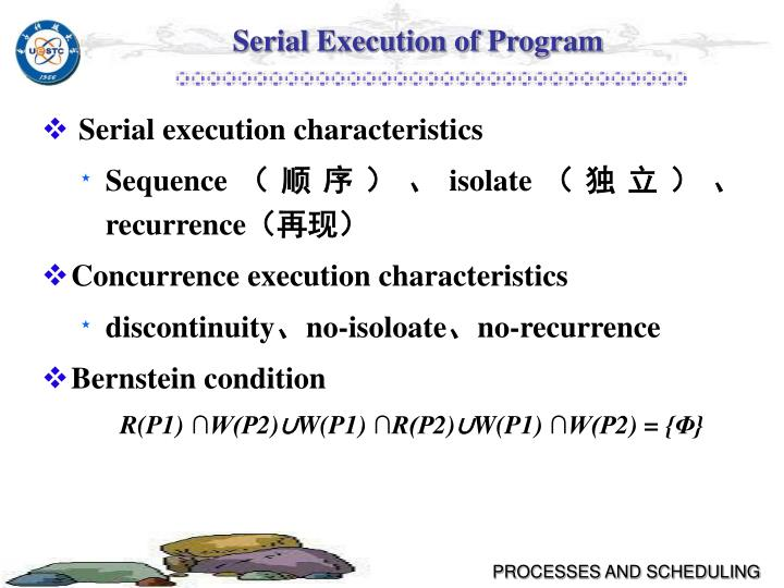 Serial Execution of Program