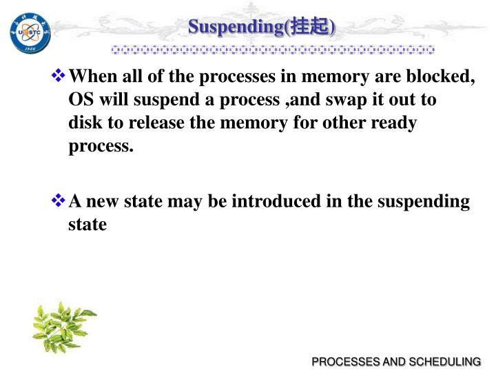 Suspending(
