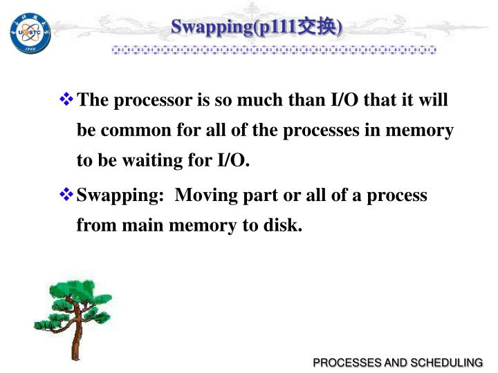 Swapping(p111
