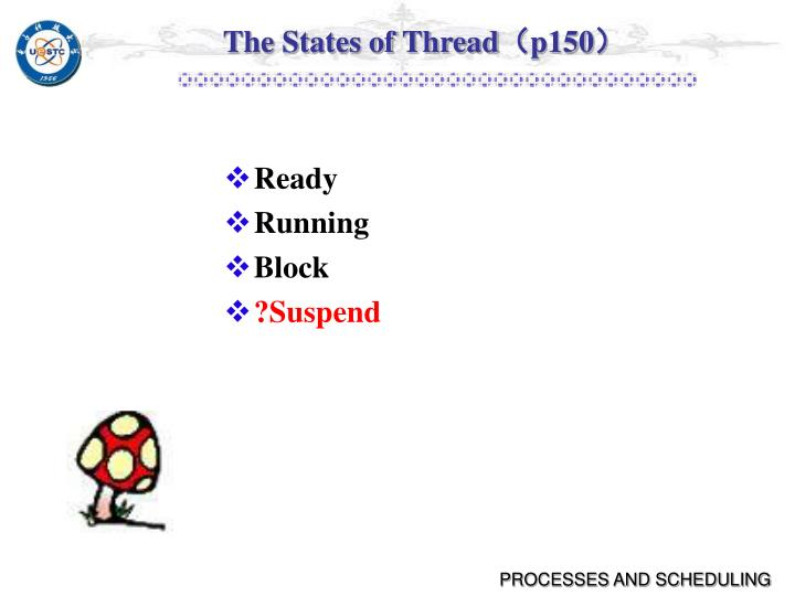 The States of Thread