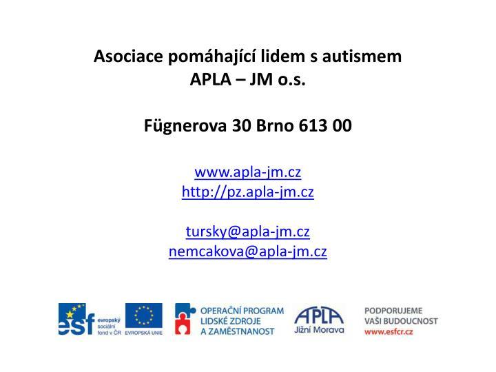 Asociace pomáhající lidem s autismem
