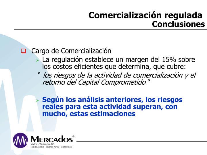Comercialización regulada