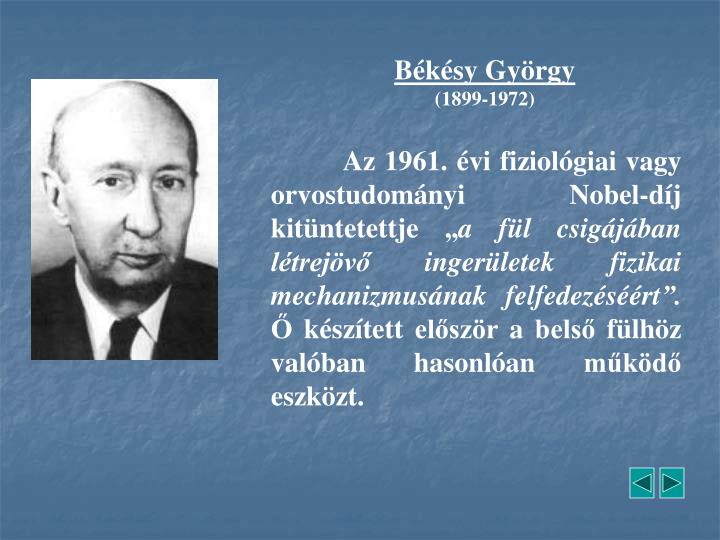 Békésy György