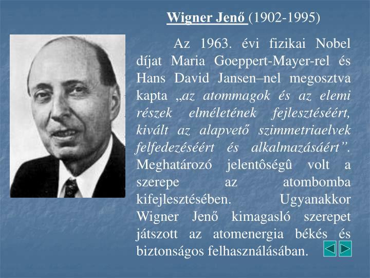 Wigner Jenő