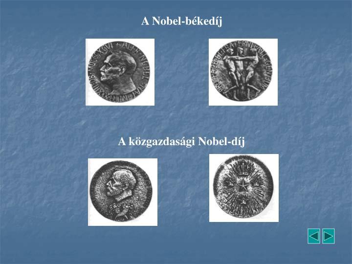 A Nobel-békedíj