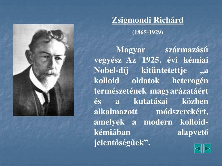 Zsigmondi Richárd