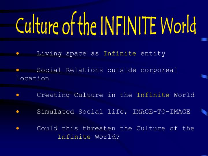 Culture of the INFINITE World