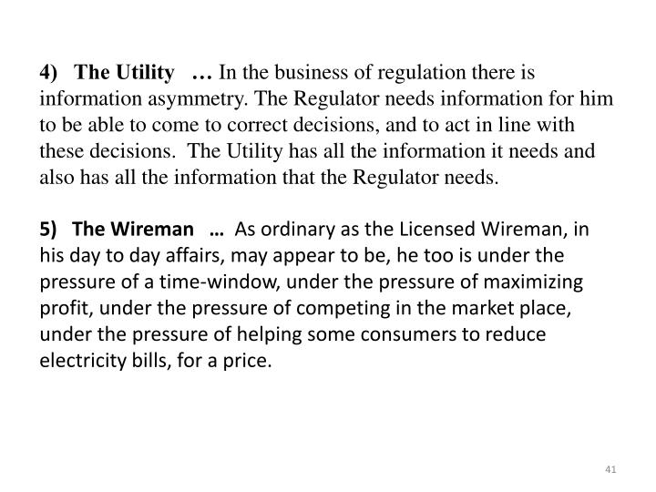 4)   The Utility   …
