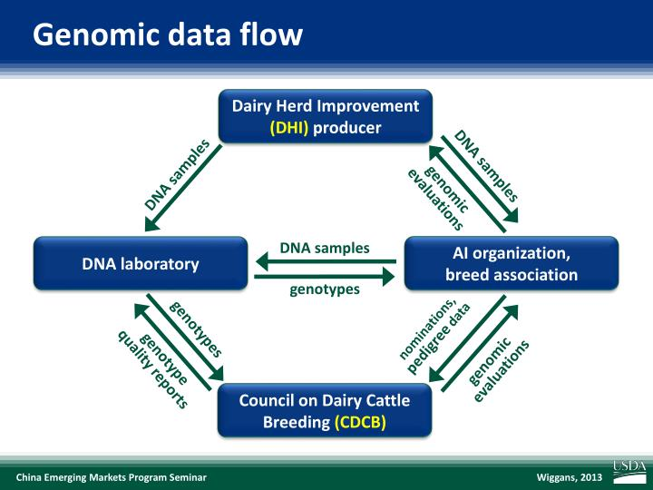 Genomic data flow