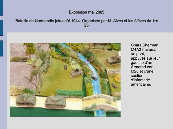 Exposition mai 2005