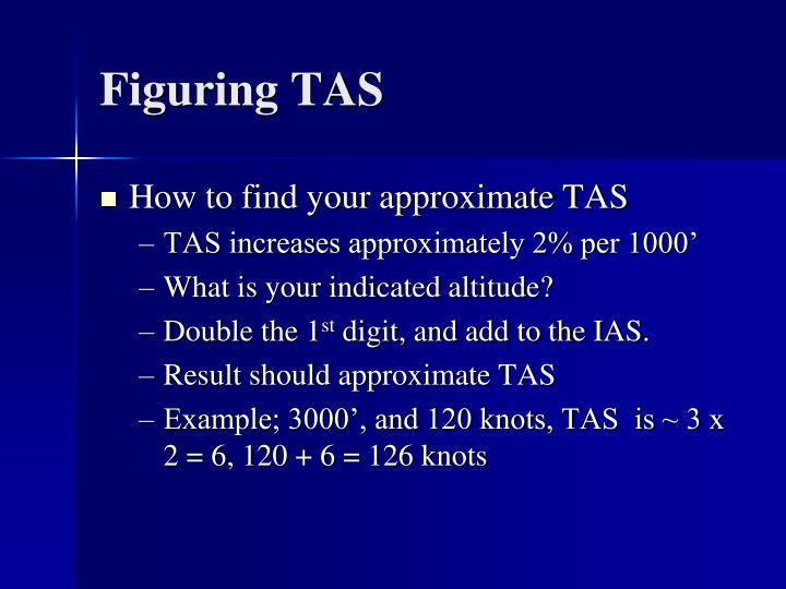 Figuring TAS