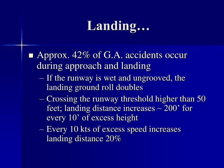 Landing…