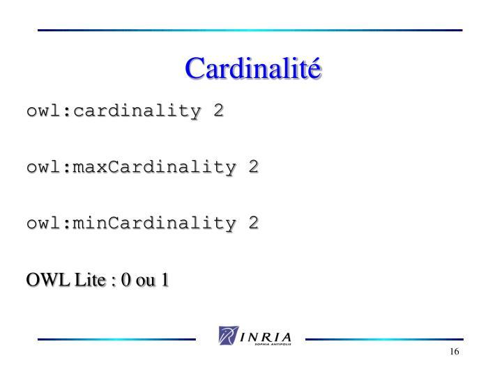 Cardinalit