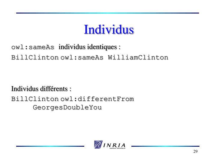 Individus