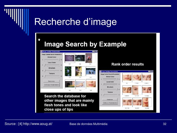 Recherche d'image
